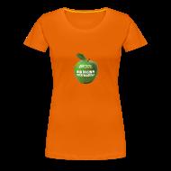 T-Shirts ~ Frauen Premium T-Shirt ~ grüner Apfel