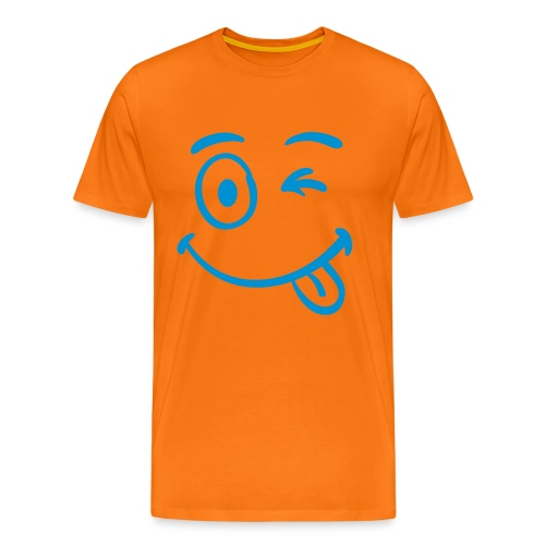 Crazy Smile - Männer Premium T-Shirt