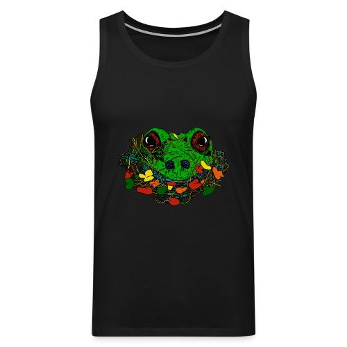 mannen muscle-shirt kikker - Mannen Premium tank top