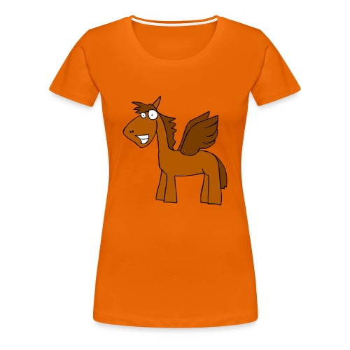pony - Frauen Premium T-Shirt