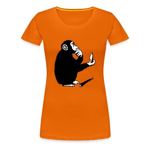 Ideas Waiting To Happen - girlie shirt ORANGE - Vrouwen Premium T-shirt