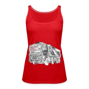 Tipper Truck 8x4 - Women's Premium Tank Top