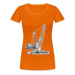 Crawler Crane 750t - Women's Premium T-Shirt