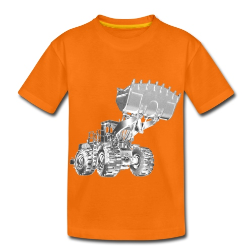Old Mining Wheel Loader - Kids' Premium T-Shirt