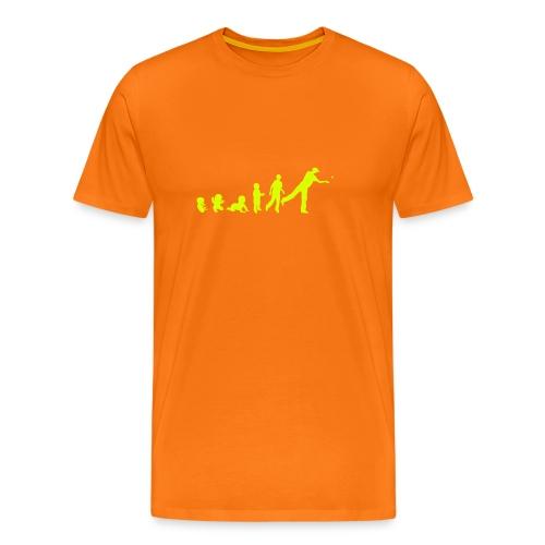 Evolution Beer Pong Homme - T-shirt Premium Homme