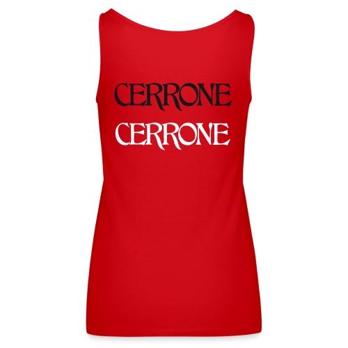 T shirt women Cerrone Cerrone - Débardeur Premium Femme