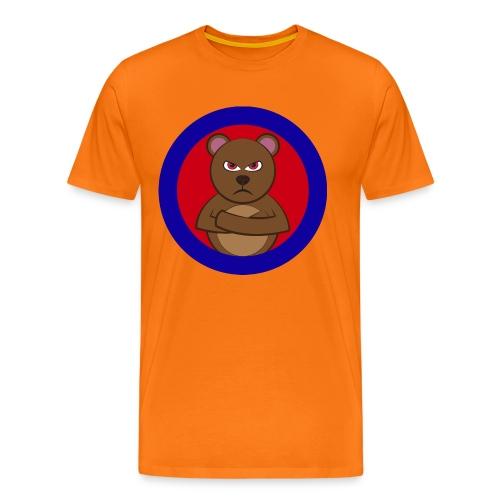 Angry bear T Shirt - Men's Premium T-Shirt