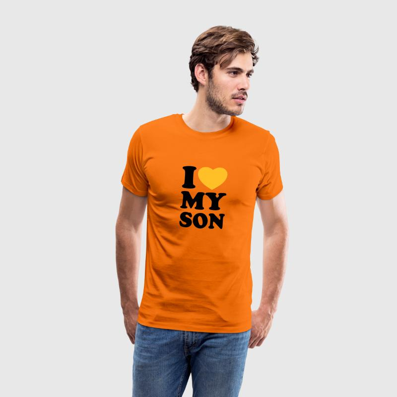 I love my son T-Shirts - T-shirt Premium Homme