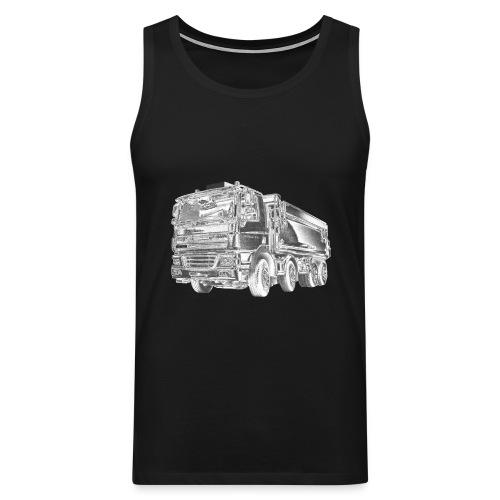 Tipper Truck 8x4 - Men's Premium Tank Top