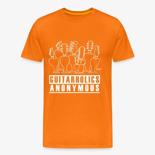 Pingo, Band, Fanshirt, Anonyme, Guitarholiker, T-Shirt, Männer - Männer Premium T-Shirt
