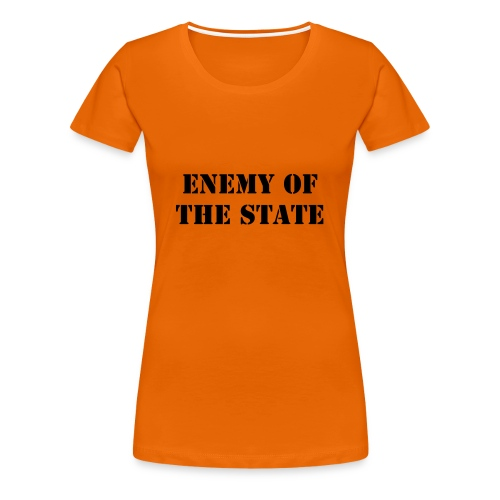 Enemy of the state - Premium-T-shirt dam