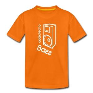 Addicted To Bass - Kids' Premium T-Shirt