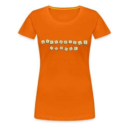 Scrabble Fight - Women's Premium T-Shirt