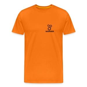 Worker - Männer Premium T-Shirt