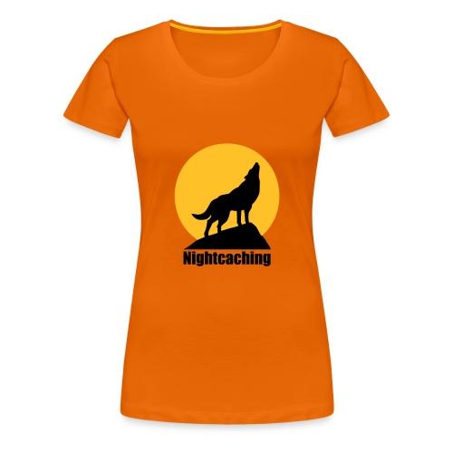 Nightcaching Wolf - Frauen Premium T-Shirt
