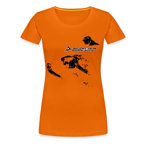 Klassisk t-skjorte for kvinner - Premium T-skjorte for kvinner