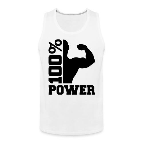 100% Power - Männer Premium Tank Top