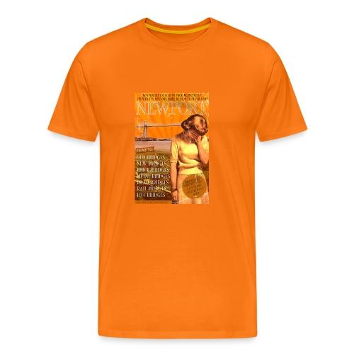 Taff Tourism: Newport - Men's Premium T-Shirt