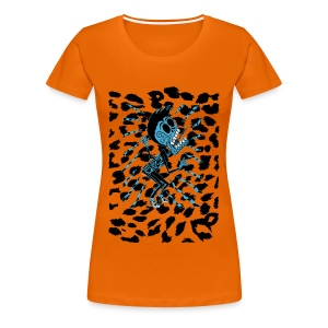 Lux Lives 2013 (Ladies Leopard print) - Women's Premium T-Shirt