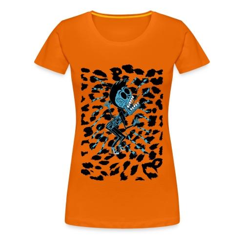 Lux Lives 2013 (Ladies Leopard print) - Women's Premium T-Shirt