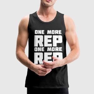 One More Rep | Mens Tank - Men's Premium Tank Top