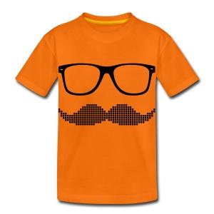 Glasses And Moustache - Kids' Premium T-Shirt