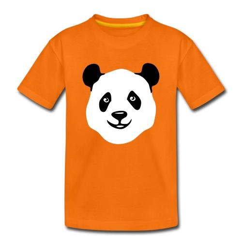 tier t-shirt panda teddy bär bärchen süß niedlich gesicht - Kinder Premium T-Shirt