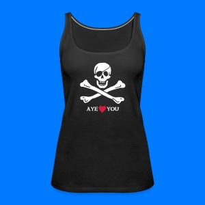 ~ Aye ♥ you ~ - Frauen Premium Tank Top