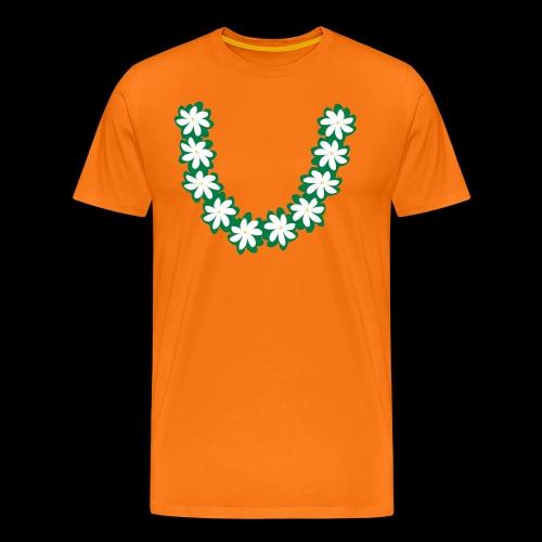 t-shirt collier de tiare - Men's Premium T-Shirt