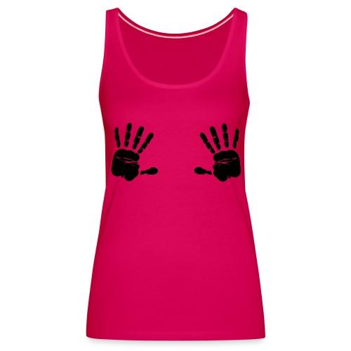 Manos en las tetas - Camiseta de tirantes premium mujer