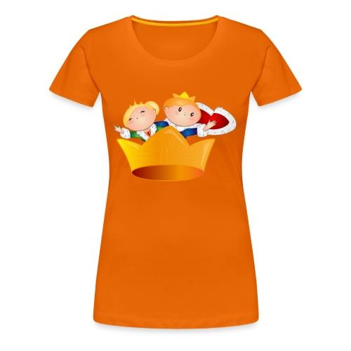 Koning Willem Alexander & Maxima - Vrouwen Premium T-shirt
