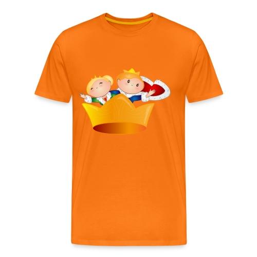 Koning Willem Alexander & Maxima - Mannen Premium T-shirt