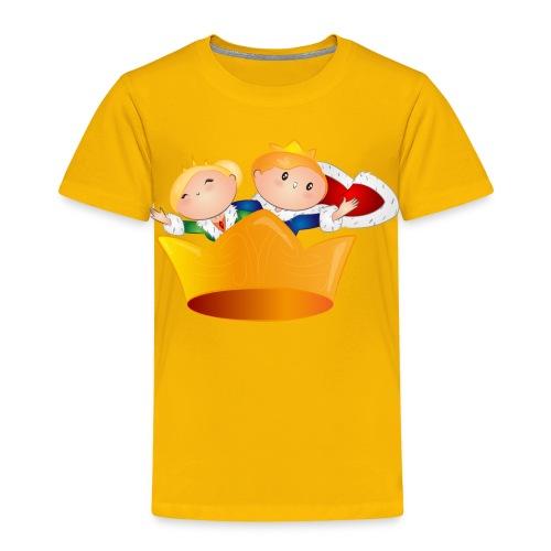 Koning Willem Alexander & Maxima - Kinderen Premium T-shirt