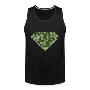 DIAMOND LIFE ARMY - Mannen Premium tank top