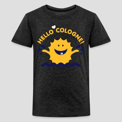 Rhein Monster | Hello Cologne! - Teenager Premium T-Shirt
