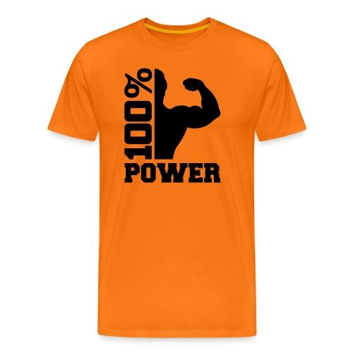 Maglietta Power - Maglietta Premium da uomo