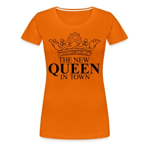 The New Queeen T-shirts - Vrouwen Premium T-shirt