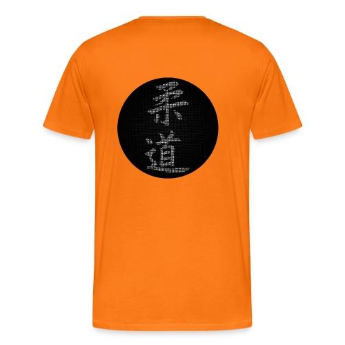 Calligraphie judo moderne dos - T-shirt Premium Homme