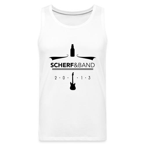 SCHERF & BAND - TANKTOP - Männer Premium Tank Top