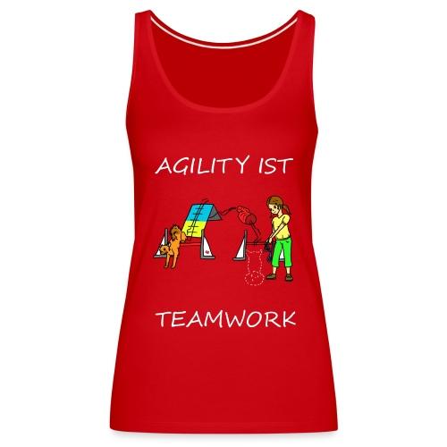 Agility ist -- Teamwork - Frauen Premium Tank Top