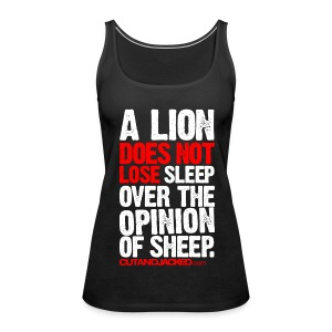A lion does not lose | Womens tank - Women's Premium Tank Top