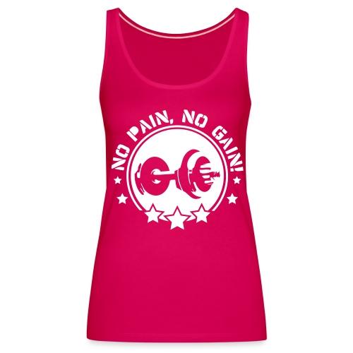 Sporty Pink - Premiumtanktopp dam