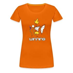 Magikarp Winning (womens) - Women's Premium T-Shirt