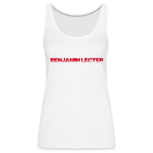 Schriftzug front und Logo back - Frauen Premium Tank Top