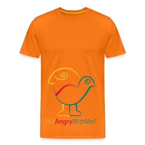 Still-Angry-Bird-Herren-T-Shirt - Männer Premium T-Shirt