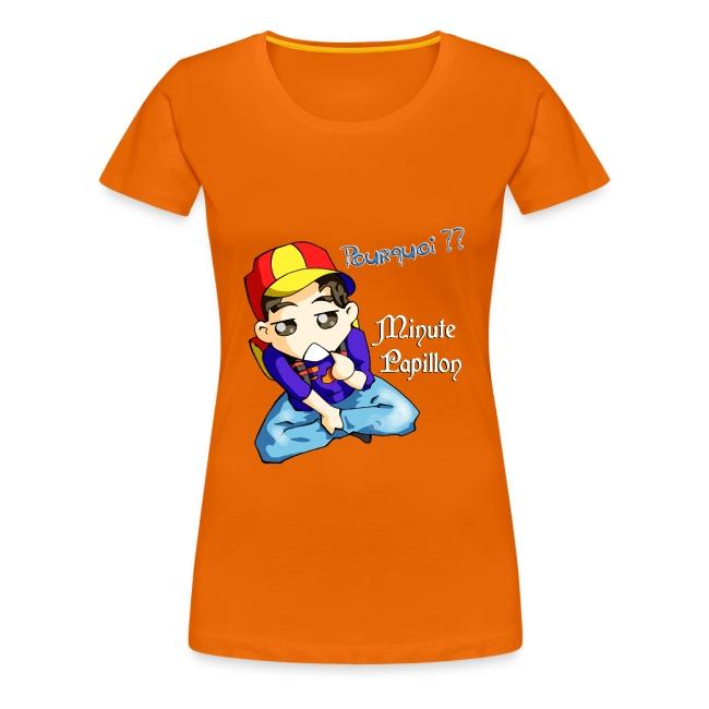 Mini-Kriss - Pourquoi - T-shirt femme