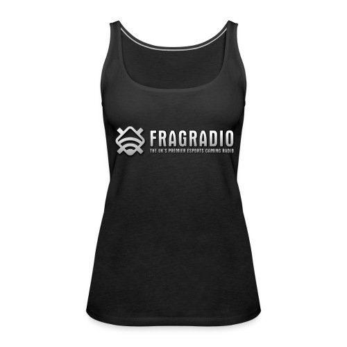 Maria's Black Tank Top (FragRadio) - Women's Premium Tank Top