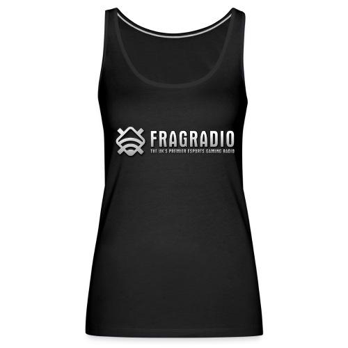 Maria's Black Tank Top (FragRadio) - Women's Premium Tank Top