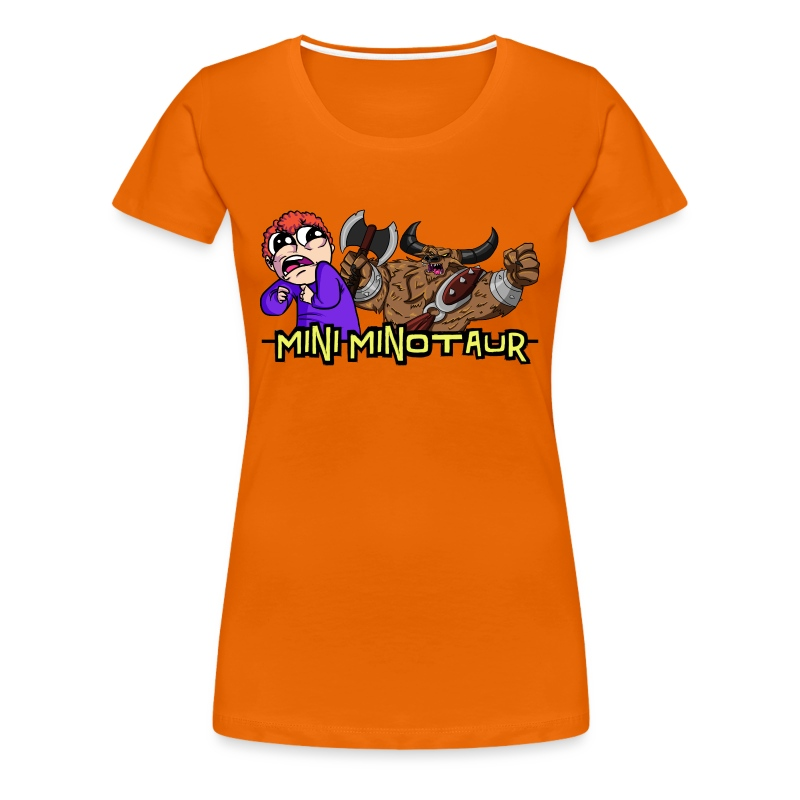Tobuscus Mini Minotaur  - Women's Premium T-Shirt
