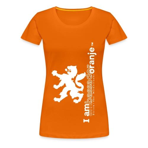 I am Oranje - Vrouwen Premium T-shirt